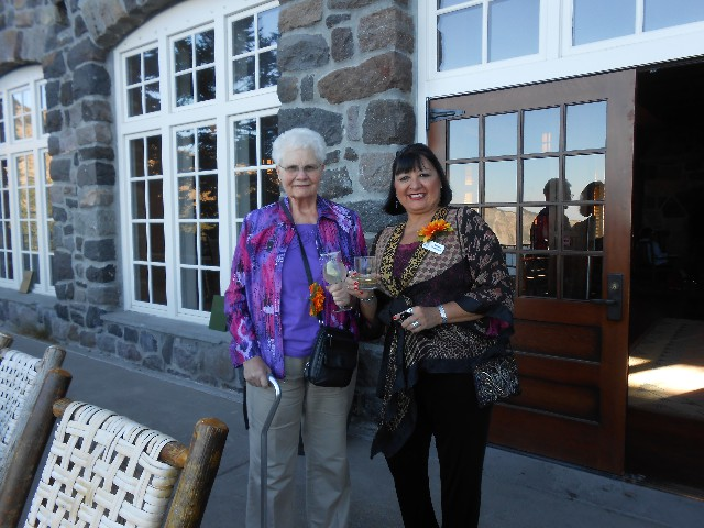 Skamania Lodge - Two Ladies with Wine